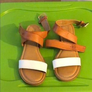 Maurices sandals.